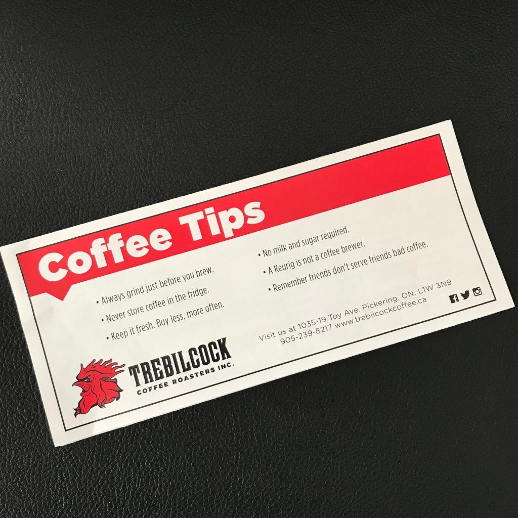 Coffee Tips